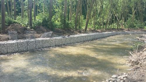Sant'Agata de'Goti: interventi di sistemazione e regimazione idraulica del fiume Isclero