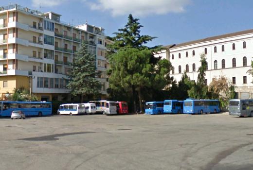 Benevento. Da lunedi partono i lavori di risanamento di piazzale Venanzio Vari – Terminal Bus Extraurbani