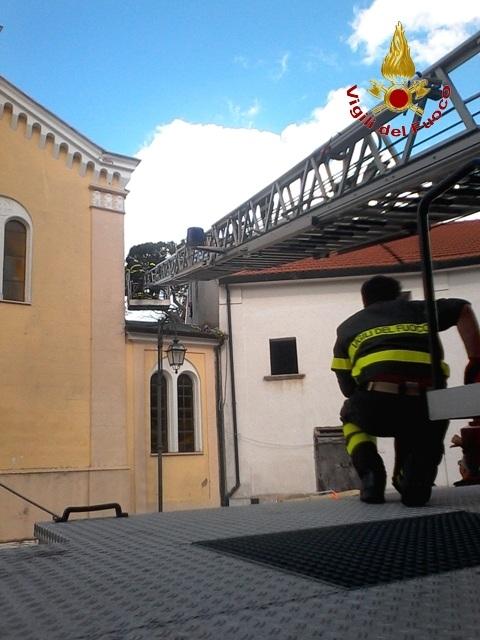 Vigili del Fuoco intervengono a San Martino Sannita per soccorrere anziano