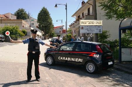 San Bartolomeo in Galdo: rapinatore fermato a piedi nei pressi di obiettivi sensibili.