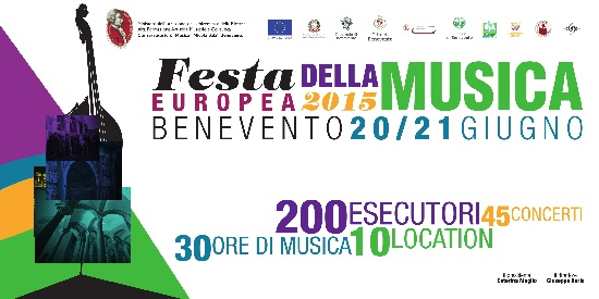 Festa Europea della Musica 2015 per il Conservatorio di musica «Nicola Sala»: sabato 20 e domenica 21 giugno