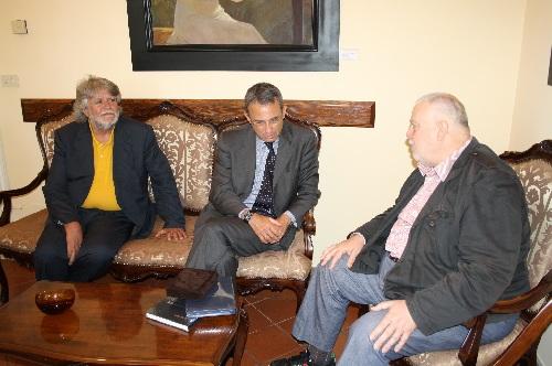 Incontro con il Generale Sergio Costa  presso la Rocca dei Rettori