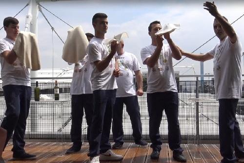 EXPO 2015 celebra la Pizza con un evento da Guinness.Coldiretti presente con i pizzaioli acrobatici