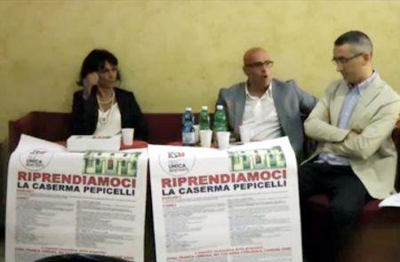 """Italia Unica Benevento: presentato questa mattina il progetto di Valorizzazione della Caserma """"Pepicelli"""""""