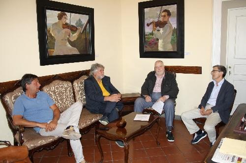 Alla Rocca dei Rettori il Presidente dell'Unione Nazionale dei Segretari Comunali e Provinciali Andrea Matarazzo