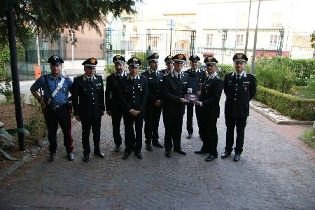 Benevento: il Comandante Generale dell'Arma dei Carabinieri, Generale di Corpo d'Armata Tullio Del Sette, in visita presso il Comando Provinciale