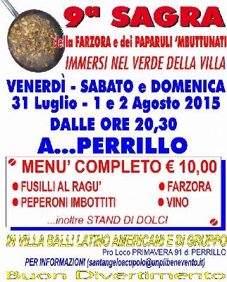 Sant'Angelo a Cupolo,dal 31 luglio una tre giorni all'insegna del buon cibo e del divertimento
