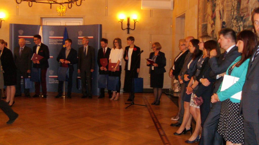 Laureata Unifortunato onorata con il Premio al Merito, Ministero Affari Esteri Varsavia-Polonia