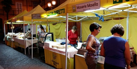 Airola, alla festa dell'Addolorata presenti gli stands di Campagna Amica con degustazioni e vendita di prodotti a km. 0.