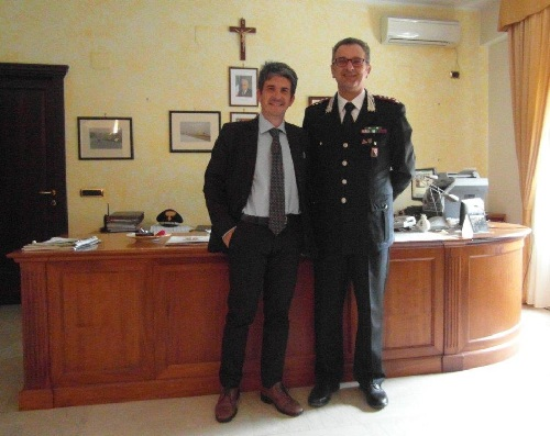 Benevento: Il procuratore aggiunto Giovanni Conzo in visita al Comando Provinciale dei Carabinieri
