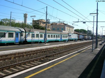 Benevento. Deraglia treno fuori della Stazione Appia. Paura tra i passeggeri