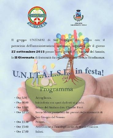 Unitalsi in Festa: a San Giorgio del Sannio la II Giornata di Fraternità