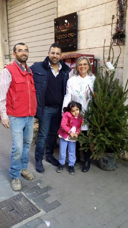 Benevento : I commercianti di Via Nicola Sala e Via S. Rosa addobbano la strada