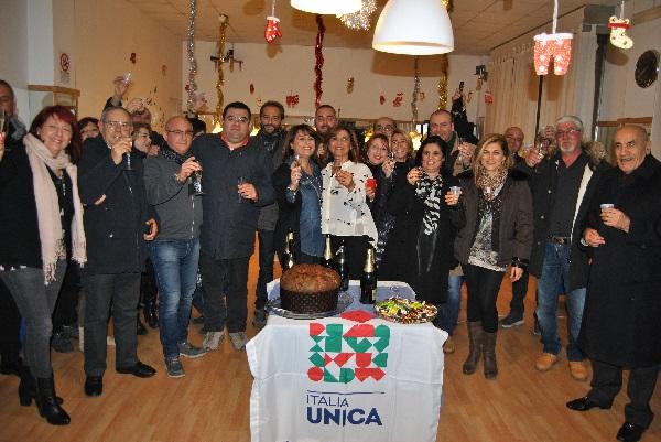 """I Costituenti di Italia Unica """"Benevento Città"""" brindano al Nuovo Anno"""