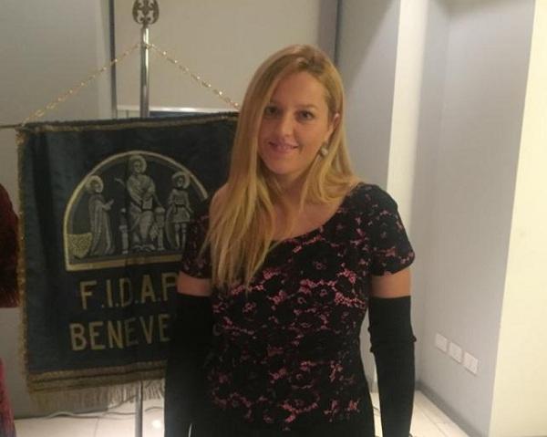 La presidente della Fidapa Benevento Carmen Coppola augura buon lavoro alla neo assessore Rossella Del Prete