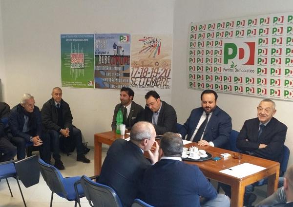 """Partito Socialista Italiano  """" posizioni troppo distanti dal Partito Democratico""""."""