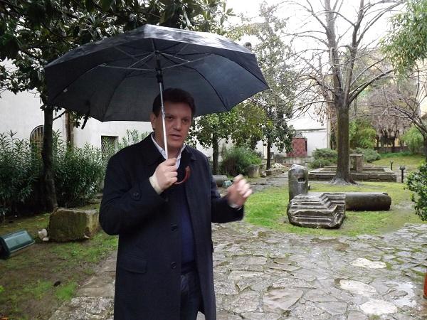 """Del Vecchio tuona """"Dove sono i denigratori? Noi sotto la pioggia e loro al caldo ?"""