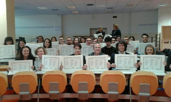 UNICEF – Università del Sannio: concluso il XX Cumes – Corso Universitario con la consegna delle pergamene