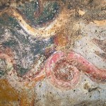 affreschi sabariani serpente