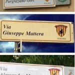 cartelli stradali coperti