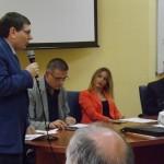 L'Assessore Regionale Lucia Fortini e Raffaele Del Vecchio  al Cesvob