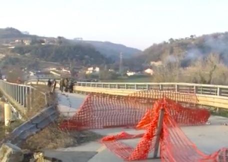 Provincia : Approvato il progetto definitivo per il ripristino del Ponte Reventa