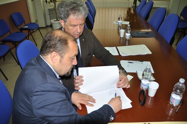 Sottoscritto in Regione l'accordo per le Intese istituzionali delle funzioni non fondamentali  delle Province