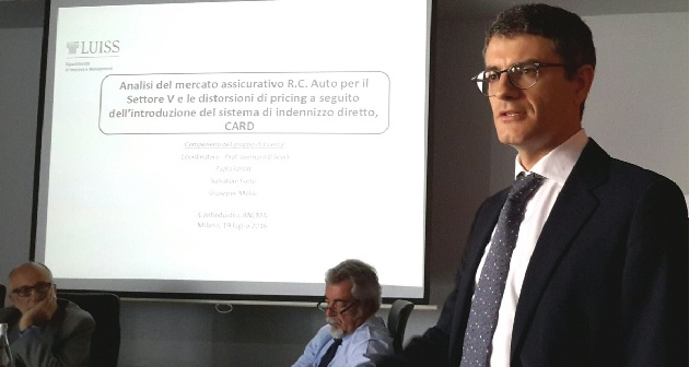 """Salvatore Forte al convegno di Confindustria: """"Il risarcimento diretto danneggia le due ruote"""""""