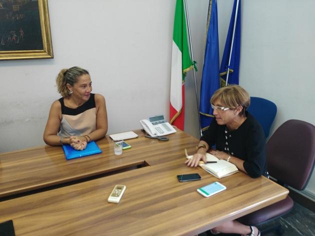 Comune di Benevento: L'assessore Mazzoni ha incontrato l'assessore regionale ai Fondi Europei Angioli
