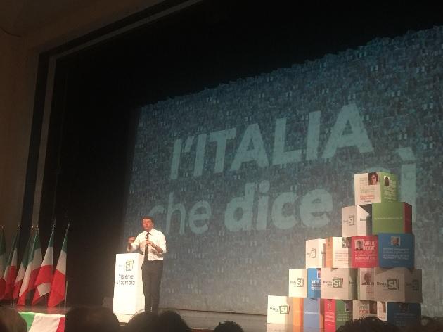 Renzi a sostegno delle eccellenze agroalimentari Campane