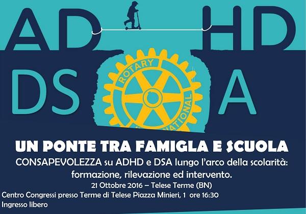 """Rotary Club Valle Telesina: presenta il progetto """"Un ponte tra famiglia e scuola"""""""