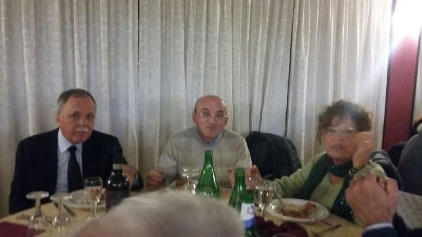 All'Aism di Benevento cena per lo scambio di auguri