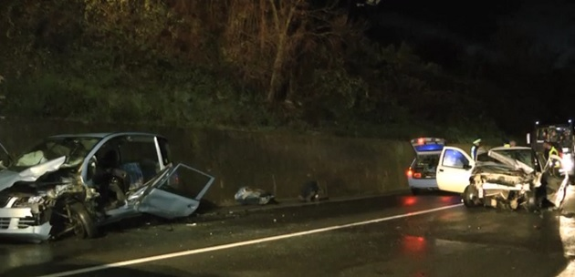 Grave incidente sulla statale 372 nel territorio di Ponte