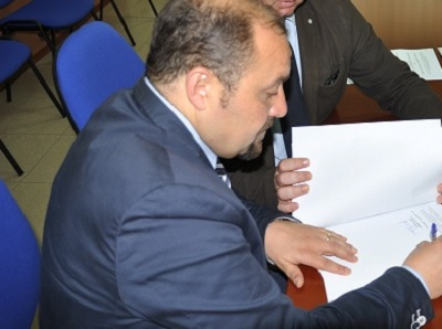 Risorse finanziarie per le imprese alluvionate.Il consigliere provinciale Lombardi si complimenta con Mortaruolo.