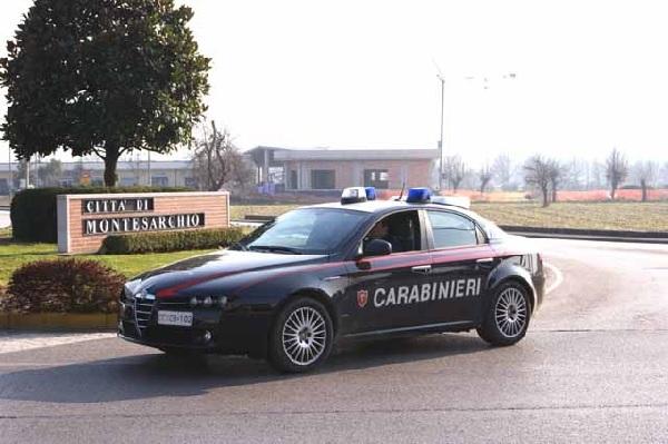 Carabinieri Sant'Agata de' Goti. Arrestato un napoletano 57enne per rapina
