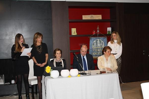 Cerimonia delle Candele ieri nella sede della Fidapa di Benevento