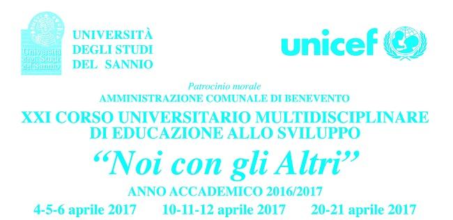 """""""Noi con gli Altri"""" XXI CUMES Corso Universitario Multidisciplinare di Educazione allo Sviluppo."""