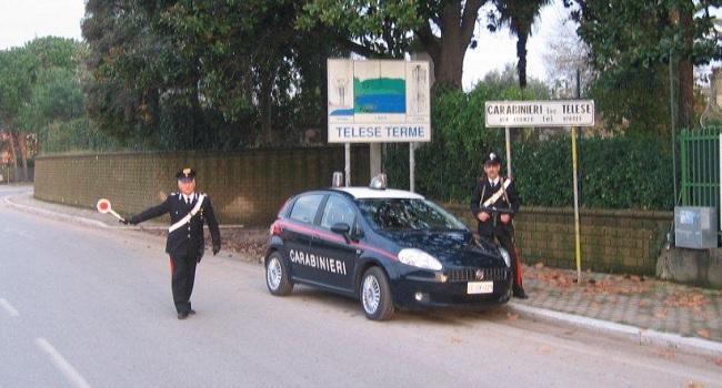 San Lorenzello. Aggredisce la propria convivente, arrestato dai Carabinieri