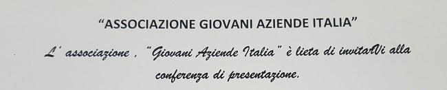 """Associazione """"Giovani Aziende Italia"""": la presentazione il 4 Giugno a Telese Terme"""