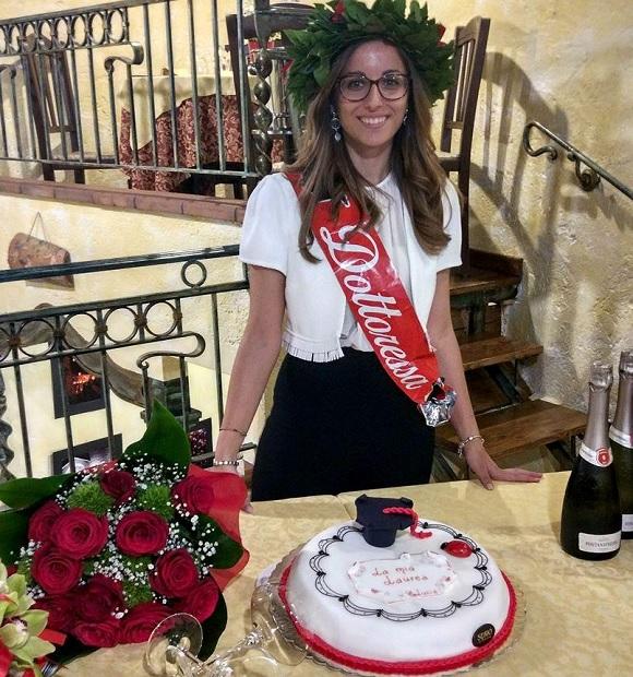 Si è brillantemente laureata Lucia Orlando