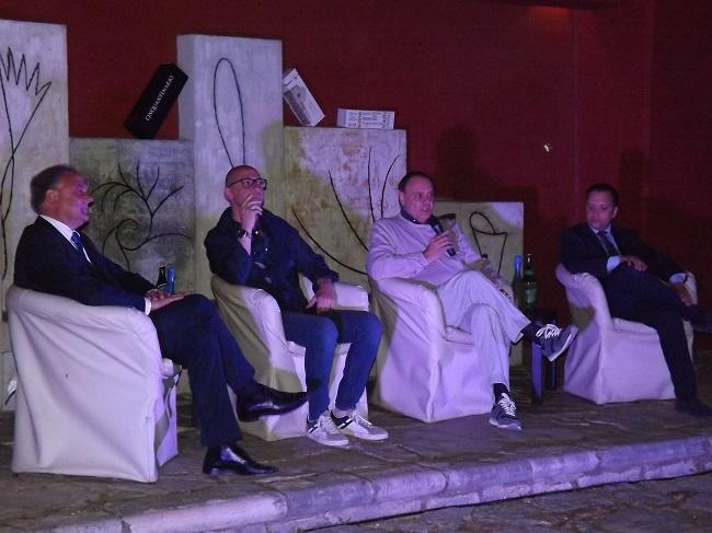 Bct, conferenza stampa nello splendido scenario dell'Hortus Conclusus