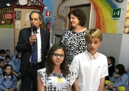 Scuola Primarie Bilingue Benevento.Trionfano De Cicco e Gennaro di Natale ai Campionati di Inglese.