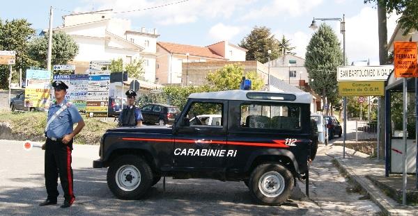 I Carabinieri a San Bartolomeo in Galdo denunciano 4 persone per truffa all'Inps