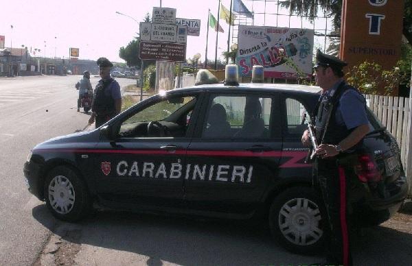Controlli dei Carabinieri nel fine settimana