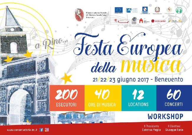 Conferenza Stampa di presentazione della Festa Europea della Musica 2017