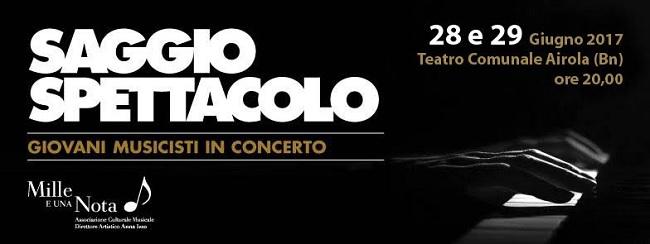 """Mille e una Nota, domani e giovedì la XXI edizione di """"Giovani Musicisti in Concerto"""""""