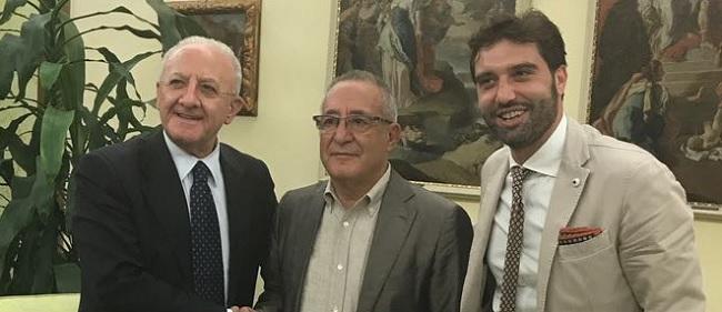 Benevento in Serie A. Mortaruolo ringrazia il Presidente De Luca per l'attenzione riservata al Sannio