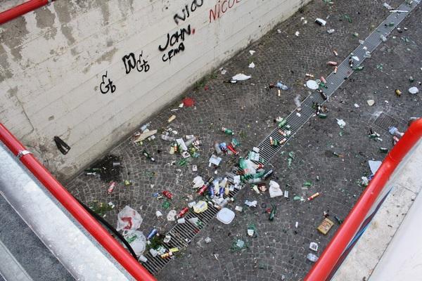 Ultimato l'intervento di rimozione dei rifiuti alla S.P. Fondo Valle Isclero