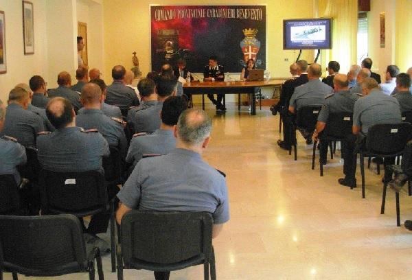 Carabinieri. Seminario sulle misure di prevenzione patrimoniali
