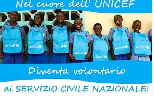 """Servizio Civile con l'UNICEF. Alla ricerca di volontari per il progetto """"Promozione di nuovi stili di vita e tutela dell'ambiente"""""""